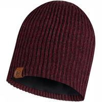 Buff Muts Lifestyle Knitted Hat Lyne Maroon voor heren - Rood