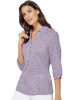 Classic Inspirationen blouse met modern minimal-dessin