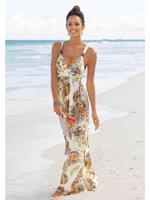 LASCANA Maxi-jurk, met kleurrijke paisleyprint