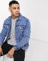 New Look - Denim jack in lichtblauwe wassing