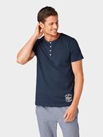 Tom Tailor pyjama T-shirt, Heren, blue-dark-solid