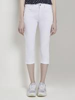 Tom Tailor Kate Slim Capri Broeken, Dames, White