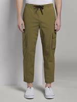 Tom Tailor Cargo Jogging broeken, Heren, faded moss green