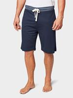 Jersey Bermuda Shorts, Heren, blue-dark-solid