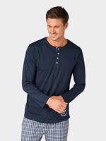 Tom Tailor pyjamatop donkerblauw