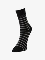 Tom Tailor Pack van 2 sokken met logo belettering, Dames, black