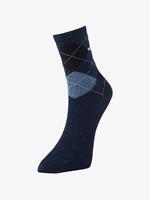 Tom Tailor sokken per twee paar verpakt, Dames, indigo melange