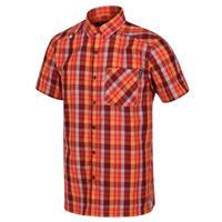 Regatta blouse Kalambo V heren polyester rood