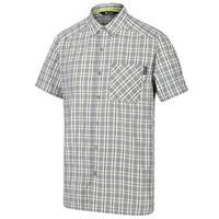 Regatta blouse Mindano V heren katoen grijs