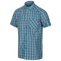 Regatta blouse Mindano V heren polyester blauw/grijs