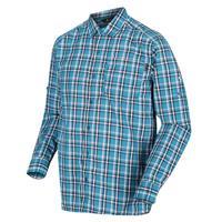 Regatta blouse Mindano III heren katoen blauw