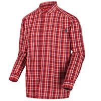Regatta blouse Mindano III heren katoen rood