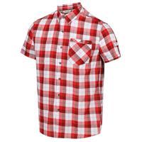 Regatta blouse ramiro heren katoen rood