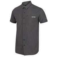 Regatta blouse Kioga II heren polyester grijs