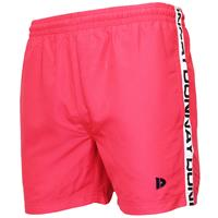 Heren - Sport/zwemshort Kay - Koraal Rood/roze