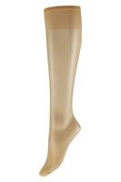 Marianne Lycra Kniekous 15 denier satin sheers -Wineblush