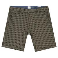 Dstrezzed Chino Short Print Army Groen