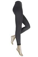 Marianne Thermo dames legging met comfort boord Anthracite melee