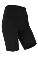 Marianne Dames short legging van katoen Black