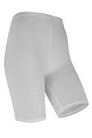 Marianne Dames short legging van katoen White
