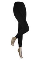 Sarlini Lange dames legging van katoen Black