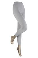 Sarlini Lange dames legging van katoen Light grey