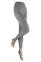 Sarlini Lange dames legging van katoen Medium grey