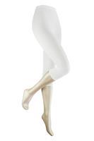 Marianne Capri dameslegging van katoen White