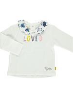 BESS Shirt Lange Mouw - Wit - Katoen/elasthan
