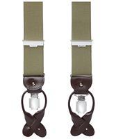 profuomo olijfkleurige bretels heren