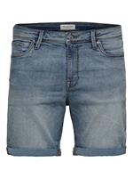 SELECTED HOMME SLHALEX 330 LBLUE SU-ST DNM SHORT W
