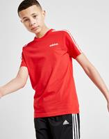 Adidas Essentials 3-Stripes T-Shirt - Red
