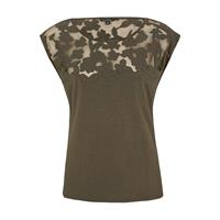 Comma T-shirt Khaki