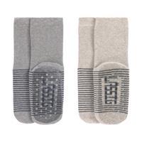 Laessig Anti-Slip Sokjes Grey / Beige