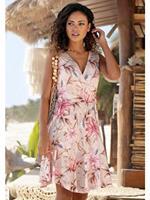 Heine s.Oliver Beachwear gedessineerde jurk