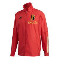 Adidas Belgium Presentation Jacket Junior - rood - Kind