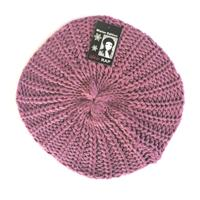 Rap Fashion baret France dames wol roze one size