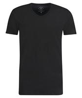 Kultivate T-shirt V-Hals Rodi Zwart
