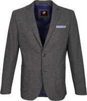 Suitable Blazer Art Antraciet