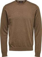 Selected Homme Trui Crew Neck Bruin