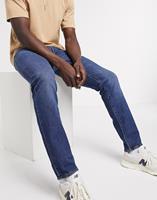511 - Slim-fit jeans met mid wash-Blauw