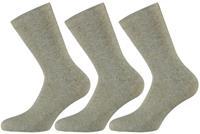 Apollo Katoenen sokken Beige