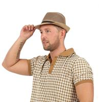 Men's Hat Beige