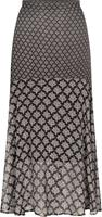 Tramontana Skirt print blacks