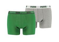Puma 2-pack basis boxershorts  AMAZON GREEN-M