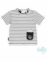 feetje Shirt Korte Mouw  - Diverse Kleuren - Katoen/elasthan