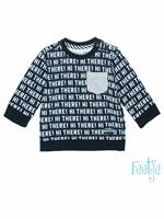 Feetje Sweater  - All Over Print - Katoen/elasthan