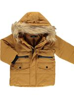 Name it !Winterjas  - Camel - Katoen/polyester