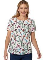 Inspirationen Classic  blouse in lichte, soepele crêpekwaliteit