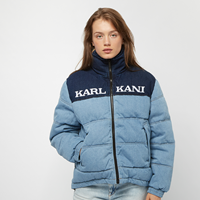 Karl Kani KK Retro Block Denim Puffer Jacket